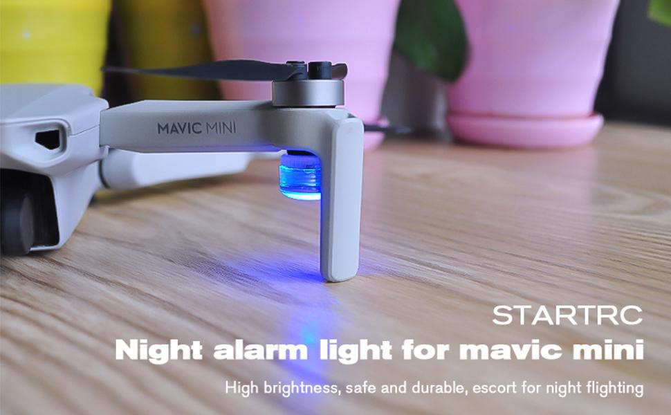 Mavic Mini 2 LED flashing light