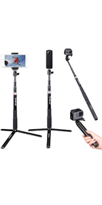 Telescoping Selfie Stick with Tripod Stand