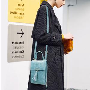 bolso monedero movil mujer