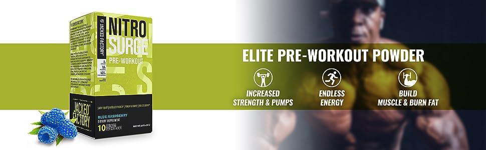 Elite Pre-workout Powder