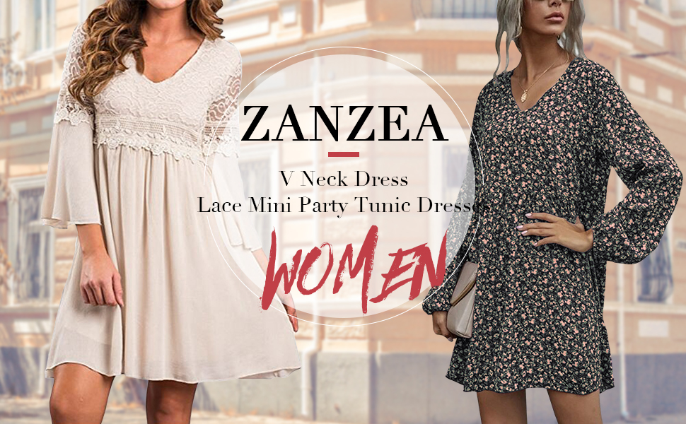 zanzea women dress