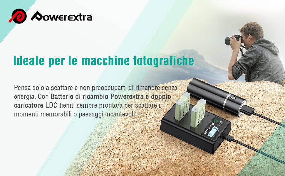Powerextra Canon Nb 13l 2x 1600mah Ersatzakku 1x Dual Elektronik