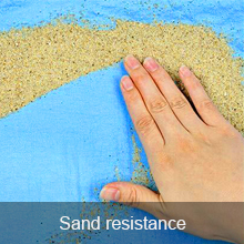 sand proof
