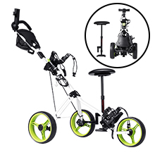 golf pull carts 3 wheel folding