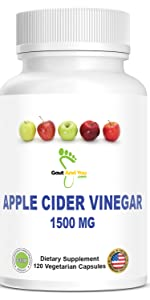 Gout and You Apple Cider Vinegar capsules