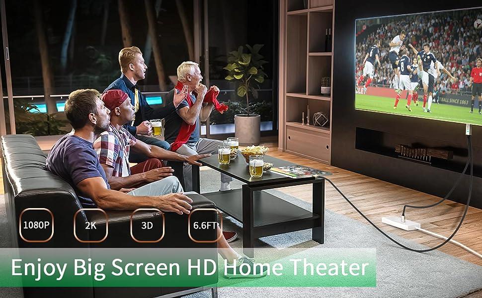 Cable HDMI para Phone Pad - MPIO 1080P AV Digital HDTV Adaptador, HDMI de Phone a TV para Phone XR, X, 8, 7, 6, Pad Air, Mini, Pro, Pod Touch Compatible con