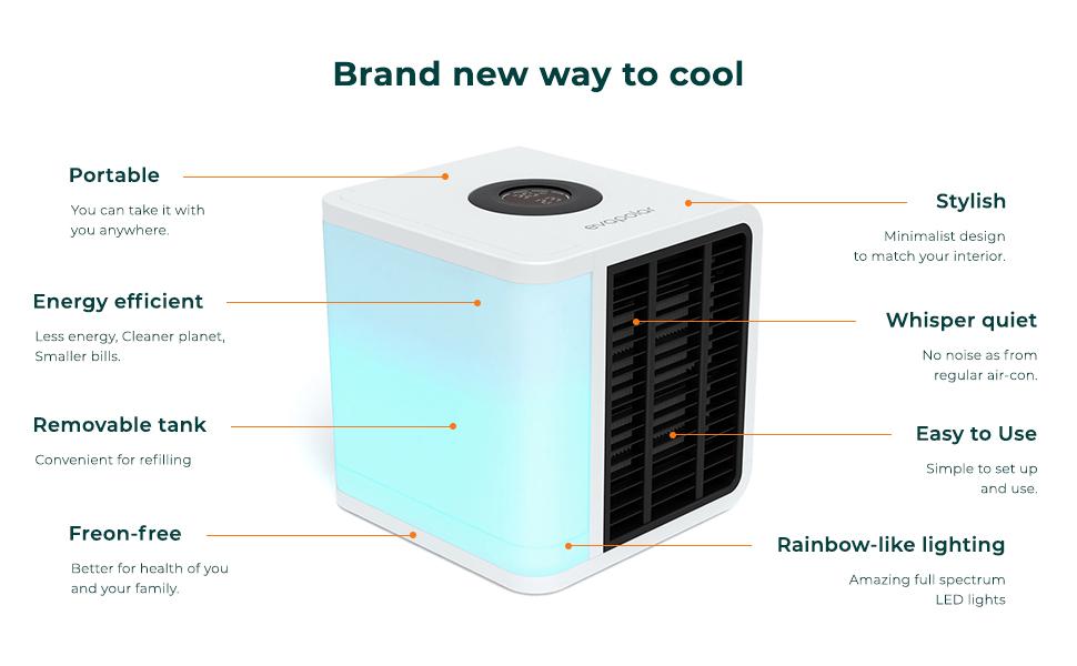 air conditioner-cooler fan-portable-personal-evaporative-conditioning-evapolar-evalight+-humidifier