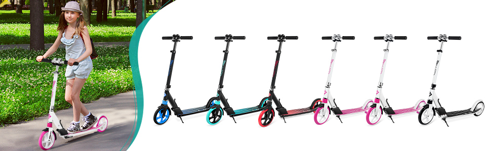 more colors scooter to choose