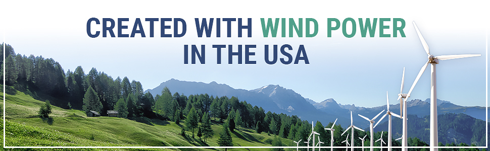 made in the usa wind power small business bulk thank you cards notes with envelopes premium paper x