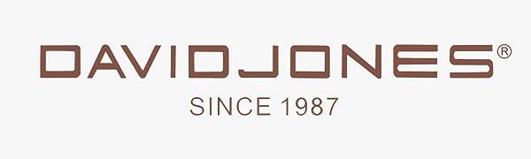 David Jones Bugatti – Bolso de mano para mujer, piel sintética, varios bolsillos