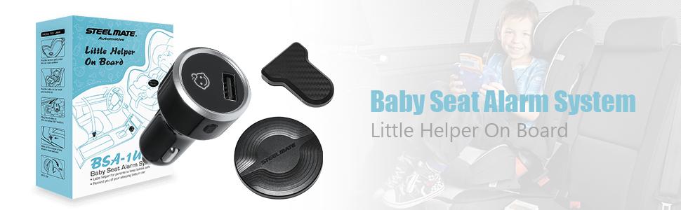 Baby seat alarm system