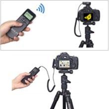 AODELAN Timer-Ausloeser Fernausl/öser mit  Intervalometer f/ür Canon EOS R EOS RP 90D M6 Mark II 7D f/ür Olympus E-M1 Mark II E-M1X f/ür Fujifilm