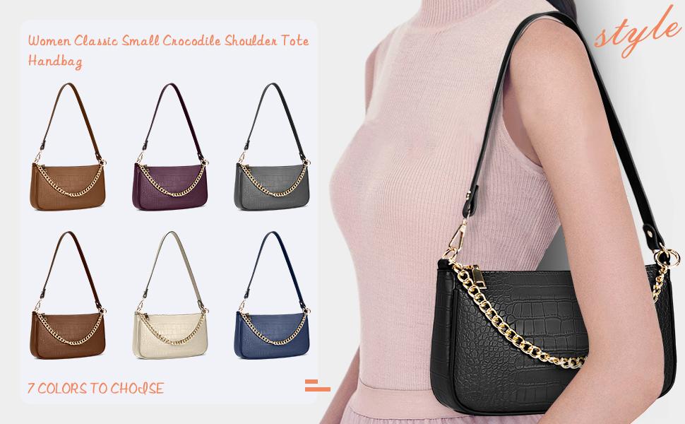 assic Clutch Shoulder Tote Handbag