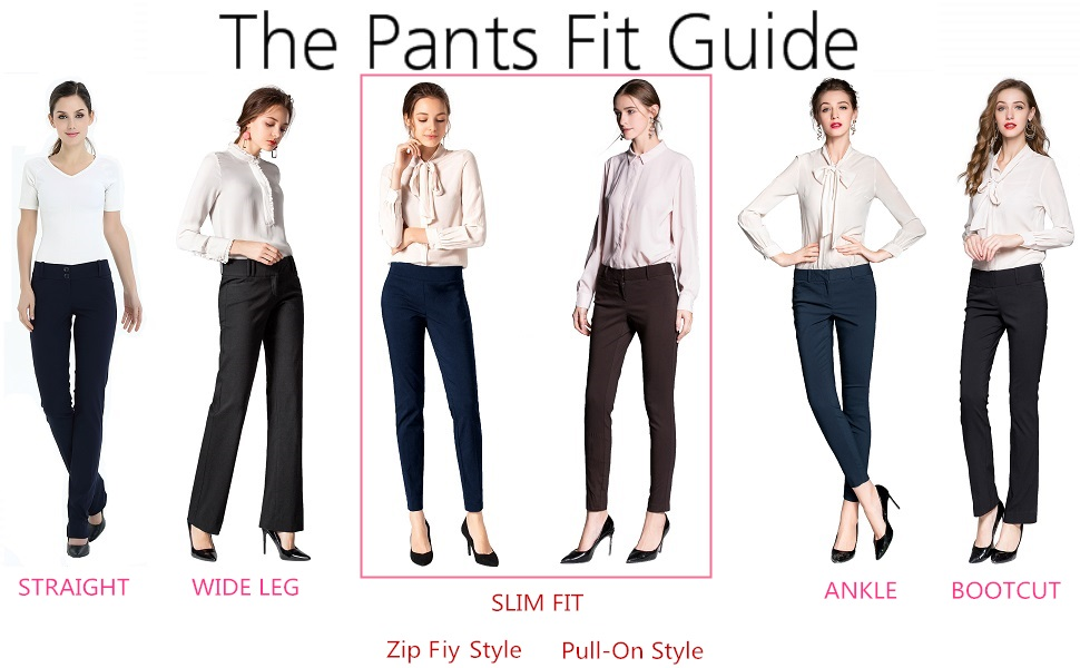 Women's Straight Pants