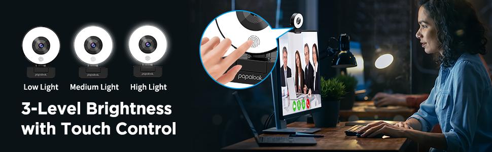 ring fill light webcam