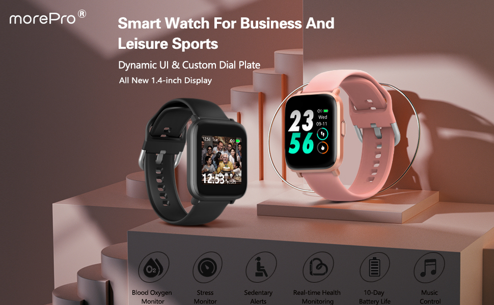 morepro smart watch