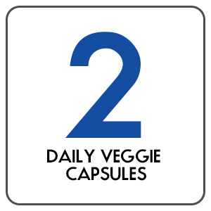 2 Daily Veggie Vegetable Capsules