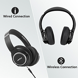 bluetooth headphones  Active Noise Cancelling Headphones, AIKELA Wireless Bluetooth Over Ear Headset with Deep Bass Hi-Fi Sound Soft Earbuds 30H Playtime Fast Charging ANC Headphone for Online Class Travel Home Office d2b5139d 8dc2 4794 a9f4 0ec3548d41dd