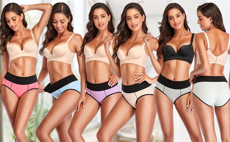 women underwear high waist underpants for women cotton womens panty pack size 10 panties for women