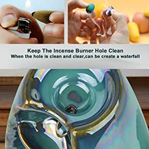 Keep The Incense Burner Hole Clean