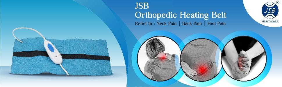 jsb orthopedic heating belt pad