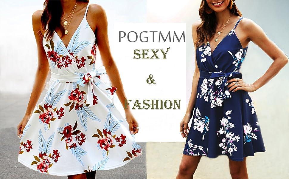 summer  floral printed swing dress