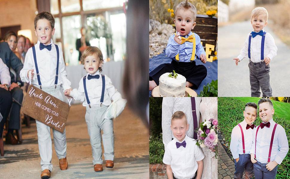 SUSPENDERS KIDS CHILDREN boy/'s little young CHOOSE COLOUR BOYS BRACES