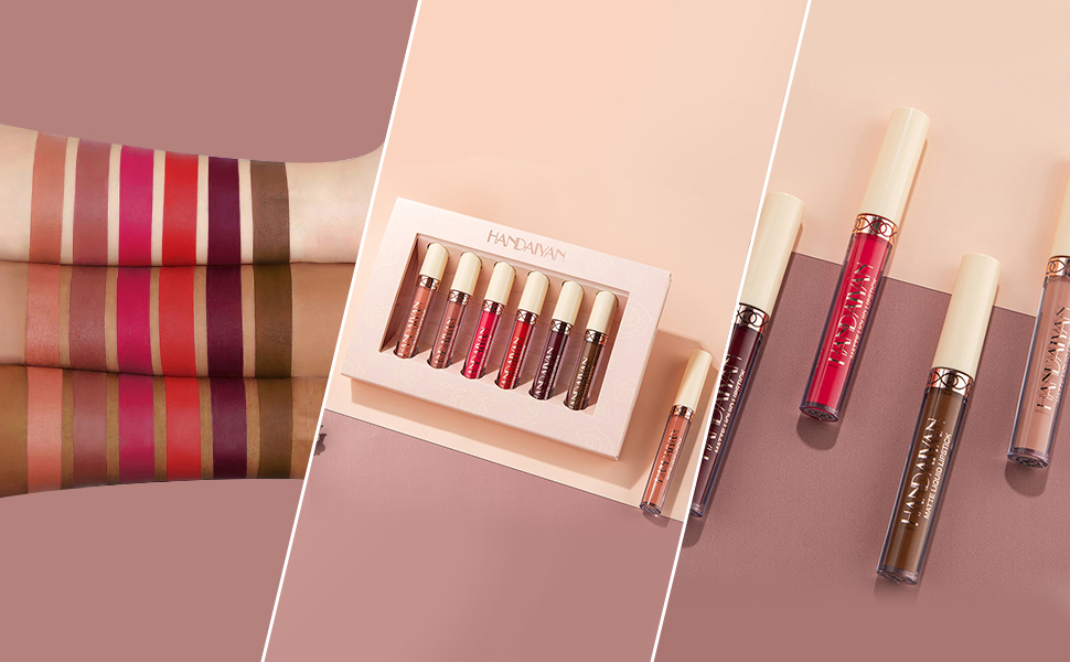 Matte lipsticks gift set