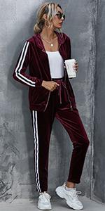 Women Jogging Suit Set