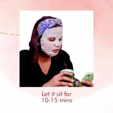 Let it sit for 10-15 min