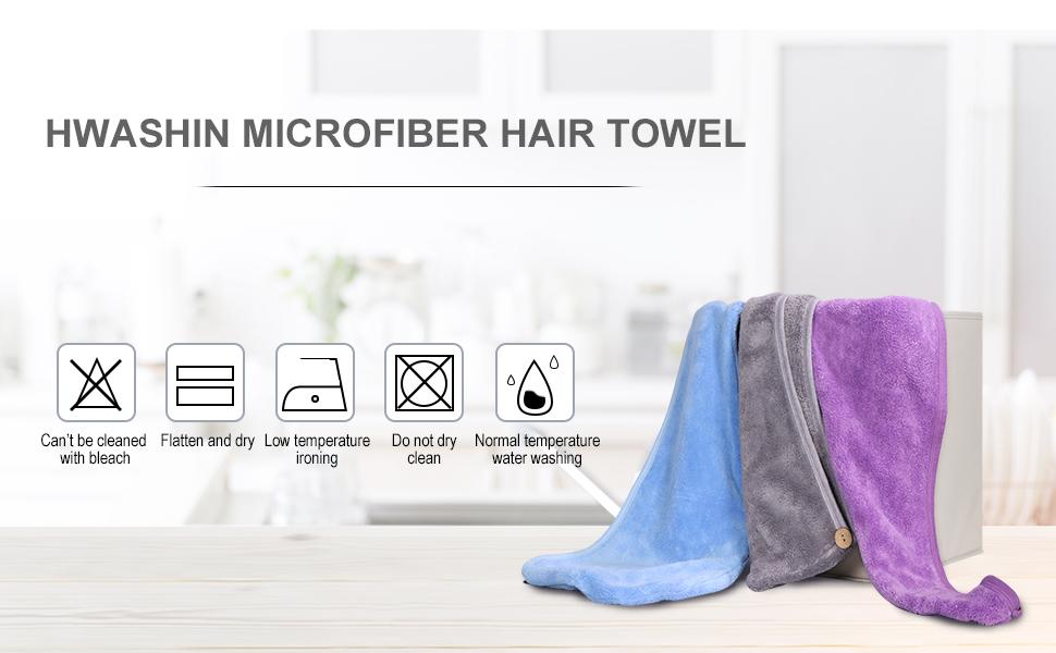 HWASHIN dry hair towel