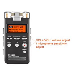 voice recorder easy setting