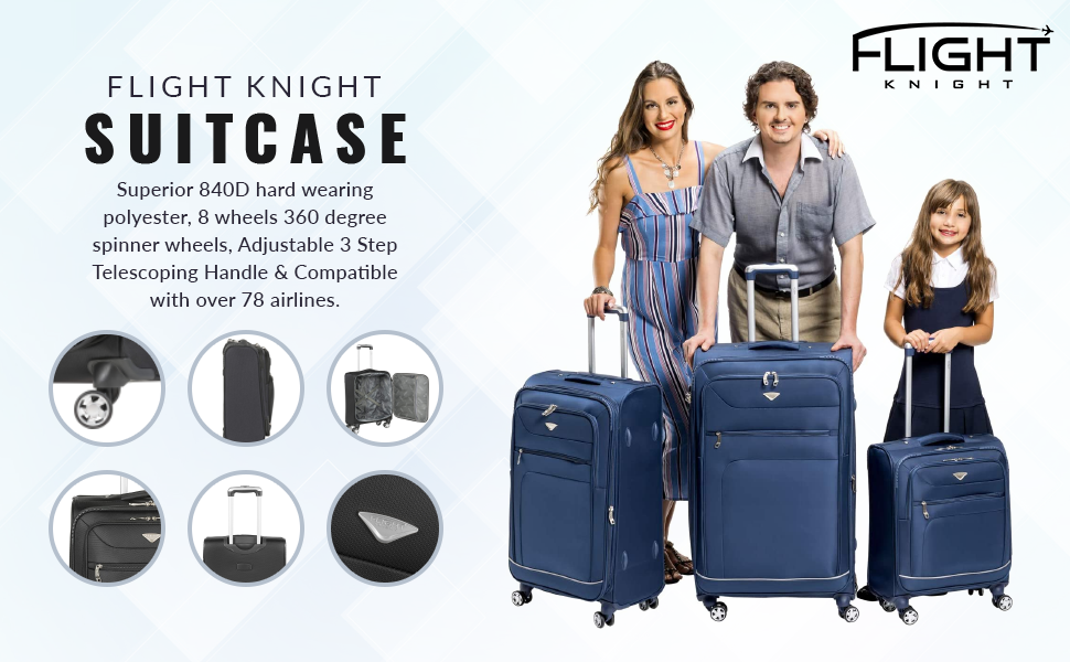 SOFT CASE SUITCASE SET