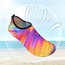 JIASUQI Womens Classic Athletic Water Shoes for Beach Swimming
