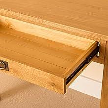 Lanner Oak work desk drawer runner