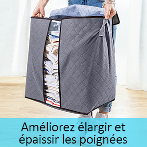 king do way Sac de Rangement sous lit,