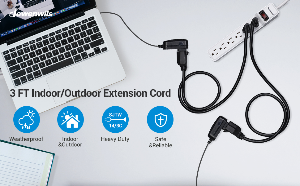 3 prong extension cord laptop phone