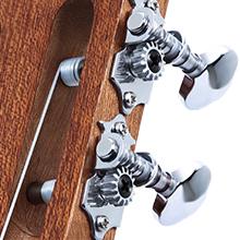 Classical guitar headstock gear tuner silver machine
