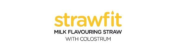 strawfit milk flavouring straws