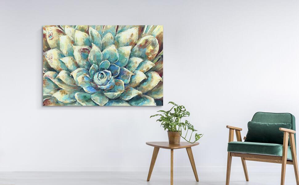 Succulent  Canvas Wall Art