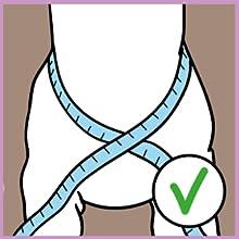 Anti pulling harness for pet walking