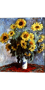 Claude Monet Still life with Sunflowers, 1880
