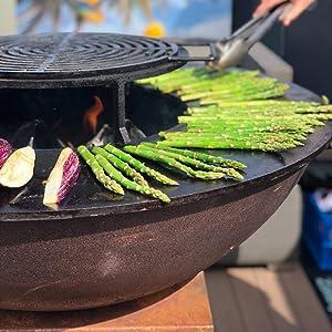 Fargau Infrarouge Barbecue Brasero Plancha 3 En 1 Existant En