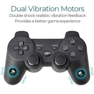 PS3 Controller Double Shock Response dual motor vibration feedback