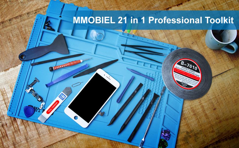 MMOBIEL 21 en 1 Set Completo Herramientas Premium de Reparación ...