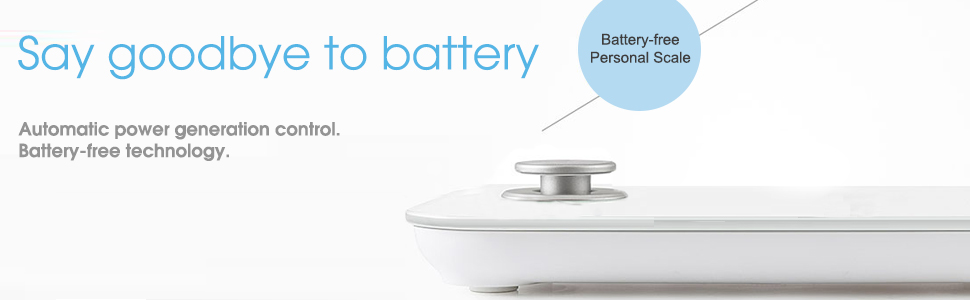 sansui battery free weighing technology