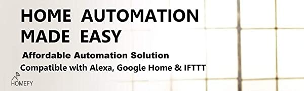 homefy affordable automation solution