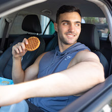 Phoros Nutrition Protein Pancake & Waffle Mix on the go