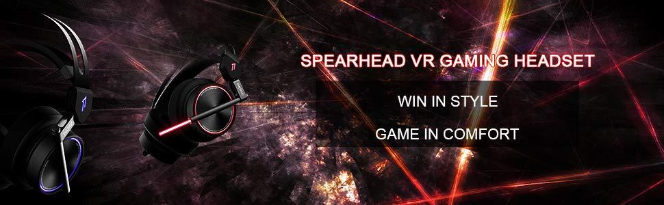 Gaming headset spread VR gaming headphone