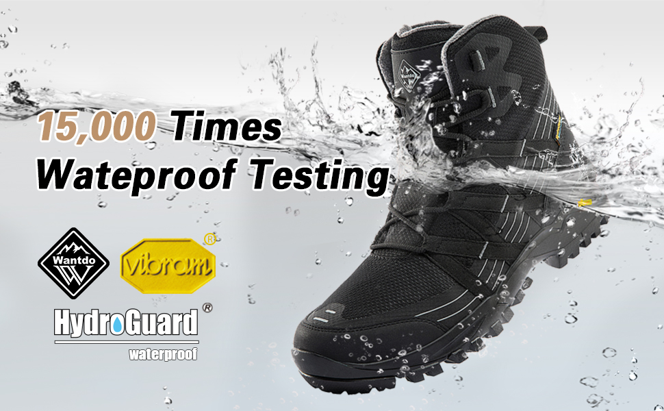 Wantdo Waterproof Hiking Boots